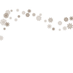 Christmas and New Year white background