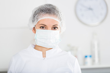 Female nurse at work