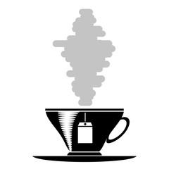 Tea Cup Silhouette