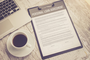 PERSONAL LOAN AGREEMENT CONCEPT