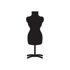 Mannequin vector icon
