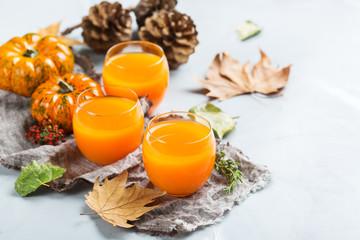 Thanksgiving pumpkin autumn fresh juice drink cocktail beverage