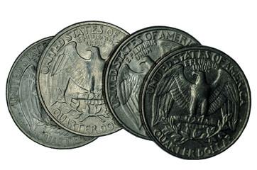 United States coins Fototapete
