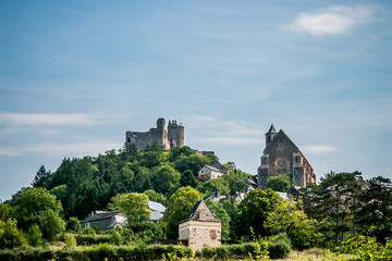 Le village et la Forteresse Royale de Najac
