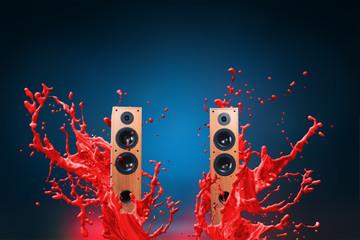 High power loud speakers