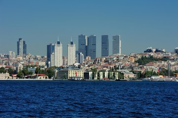 Modern and classical Istanbul Europe Part Tukey