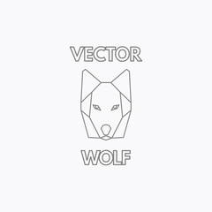 Vector Linear Wolf Symbol