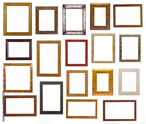 Picture frame collection stockfotos und lizenzfreie for Pictureframes net