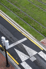 Road markings and colours
