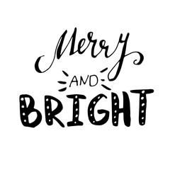 Christmas hand lettering signature.