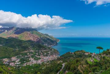 Ravello (Amalfi Coast, Campania) - A touristic town on the sea in southern Italy, Sorrentine Peninsula