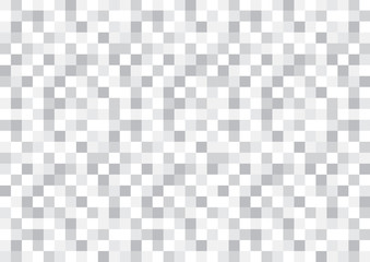 Grayscale checkered pattern pixel textured background