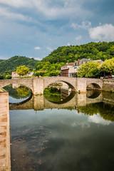 Le Pont des Consuls à Villefranche de Rouergue