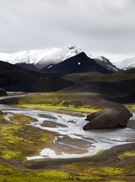 The Icelandic highlands