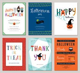 Kids Halloween Cards.