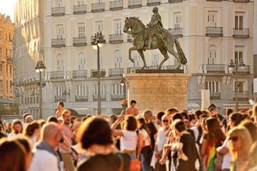 Fototapeta Puerta del Sol, Madrid, Spain obraz