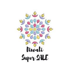 Creative poster Sale Happy Diwali