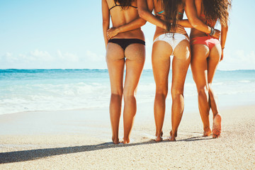 Beautiful Girls at the Beach