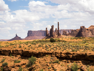 Totem Pole, Monument Valley - Arizona, AZ, USA