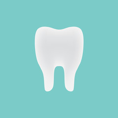 tooth icon- vector illustration