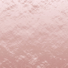 Rose Gold Foil Leaf Vector Texture. Shiny Distressed Pink Gold Metallic  Background. Top Lighted.
