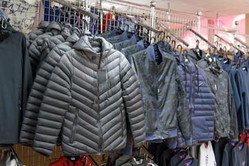 Warm men's jackets