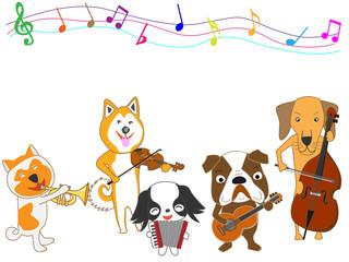 犬のコンサート