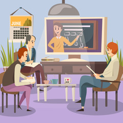 Students Engaged Online Education