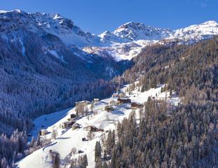 Italy, Veneto, Belluno district, Alto Agordino, Pieve di Livinallongo