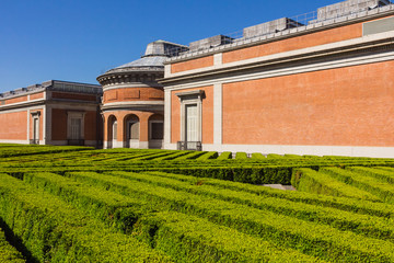 Back of Museo del Prado