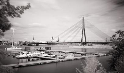 A city on a river