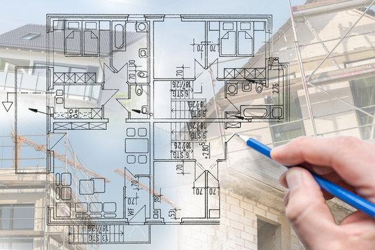 Planung des Traumhauses