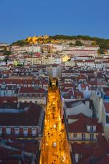 Portugal, Distrito de Lisboa, Lisbon, Alfama, Castelo Sao Jorge