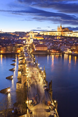 Czech Republic, Central Bohemia Region, Prague, Charles Bridge