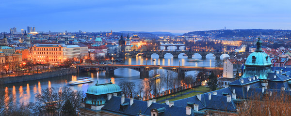 Czech Republic, Central Bohemia Region, Prague, Charles Bridge