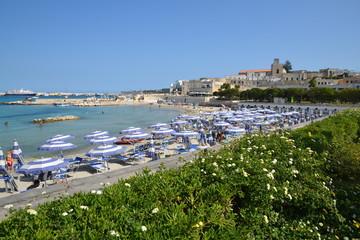 Otranto - panorama dalla spiaggia
