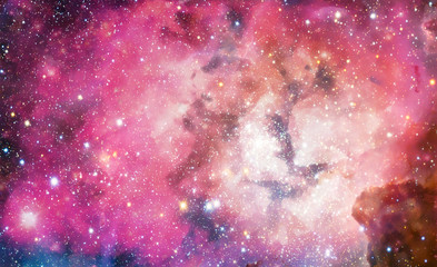 Watercolor Galaxy Background, Space, Nebula In Watercolor Print Ready