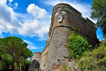 Forte Sangallo. Civita Castellana. Lazio. Italy