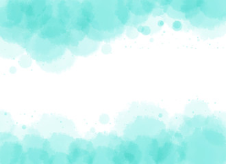 Background template with light blue watercolor texture