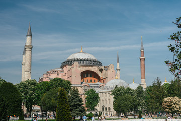 The Blue Mosque, Sultanahmet Camii, Istanbul, Turkey.