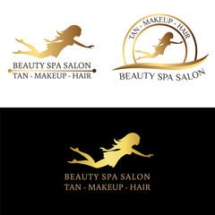 Logo for beauty salon, spa salon, beauty shop