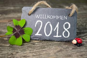 Silvester 2018 Deko