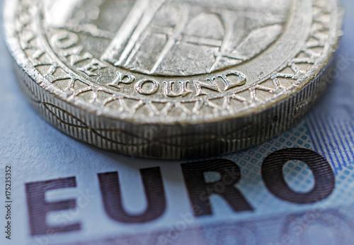 Rückseite Einer Englischen 1 Pfund Münze Aus Dem Jahr 2005 Mit Dem