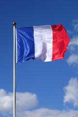 drapeau francais vertical
