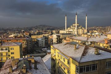 Kocatepe Mosque in Ankara,Turkey