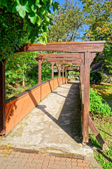 Brücke zum Kurpark Bad Salzdetfurth