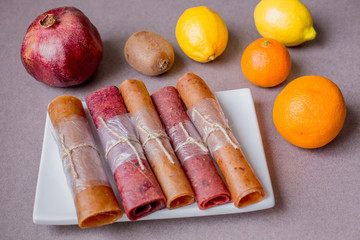 Pastila fruit leather roll Wall mural