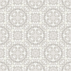Seamless pattern with lots of dots and circles. Multi-layered image.