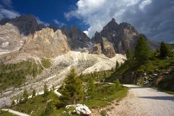 Group of Cima della Vezzana, Dolomites, Italy