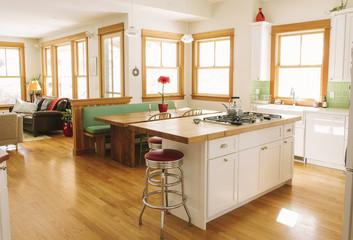 Interior of Contemporary Home